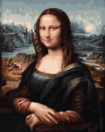 Wizardi Paint-By-Numbers Mona Lisa