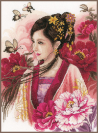 Culture - Asian Lady in Pink