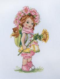LITTLE GIRL: SUMMER GIRL