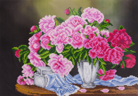 DIAMOND PAINTING PEONIES - FREYJA CRYSTAL