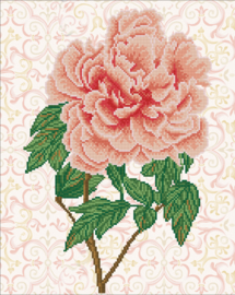 DIAMOND DOTZ ROSE BLUSH - NEEDLEART WORLD