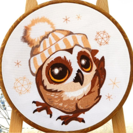 Owlet - Embroidery (Uiltje)