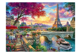 DIAMOND PAINTING GORGEOUS PARIS WD2500 100 x 68cm