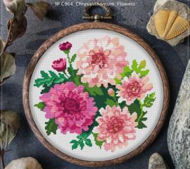 BORDUURPAKKET CHRYSANTEMUM FLOWERS - C964 VANAF 10,95