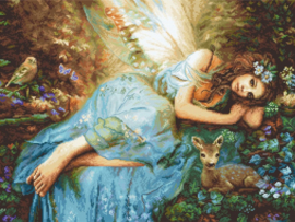 Borduurpakket LETI 960 Spring Fairy