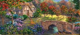 KRALEN BORDUURPAKKET BRIDGE - ABRIS ART