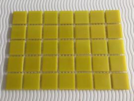 Mozaïeksteentjes 2 x 2cm (35 stuks) hardgeel