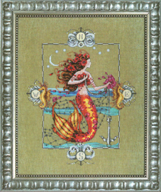 BORDUURPATROON GYPSY MERMAID - MIRABILIA DESIGNS