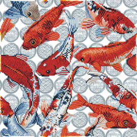 DIAMOND DOTZ KOI MOSAIC - NEEDLEART WORLD