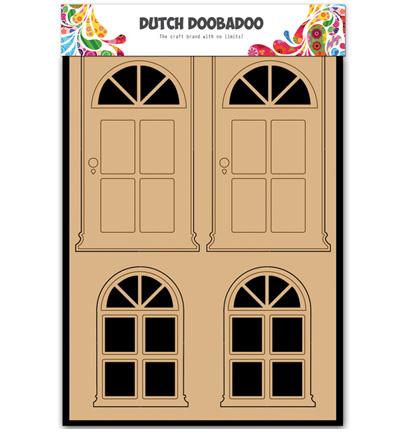 Dutch Doobadoo - Dutch MDF Art - Door & Window