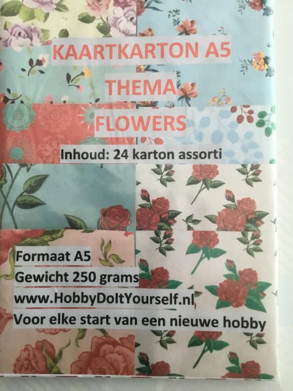 Decor Karton Flowers (24)