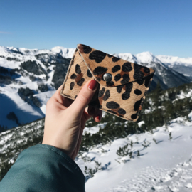 LEOPARD MINI WALLET