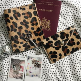 LEOPARD PASSPORT COVER