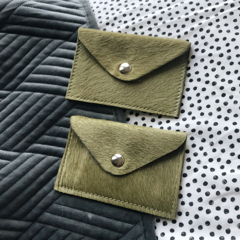 GREEN MINI WALLET