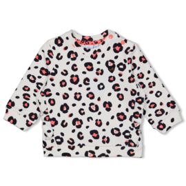 Sweater all over print Leopard Love