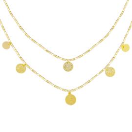 Ketting Royal Coins - goud