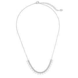 Ketting Sweet Tiny Circles - Zilver