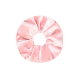 Scrunchie Velvet - Baby Roze