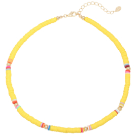 Ketting Surf Babe - Geel