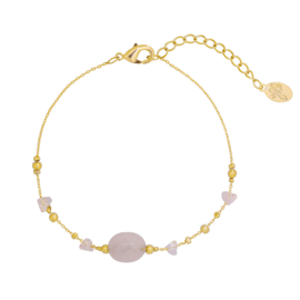 Armbandje Sparkle and Shine - Goud