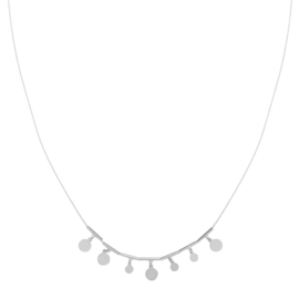 Ketting My Little Coins - zilver