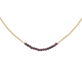 Ketting Fabulous Beads - Goud