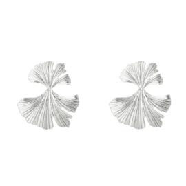 Oorbellen Koraal - Zilver