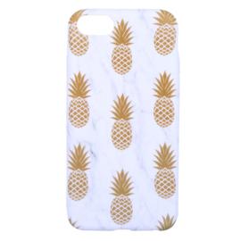 Telefoonhoesje - Gold Pineapple Marble