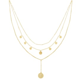 Ketting La Reina Layers - goud