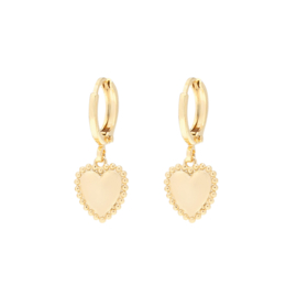 Oorbellen Summer love - Goud