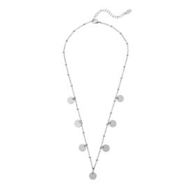 Ketting Only Circles - Zilver