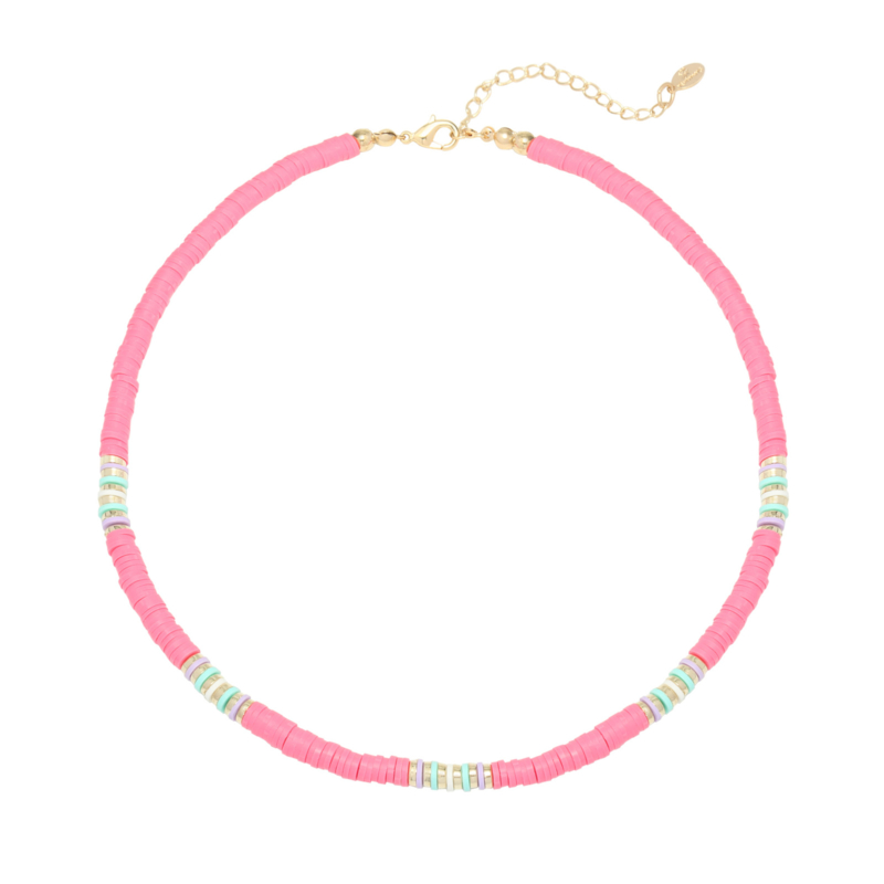 Ketting Ride the Waves - Roze