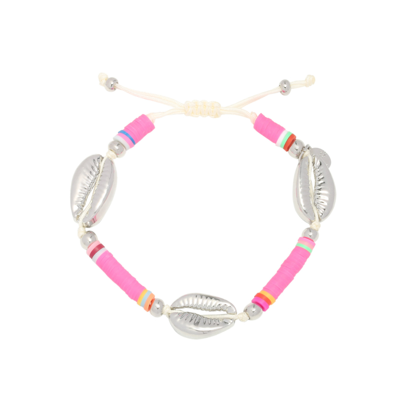 Armband Surfing Shell - Roze