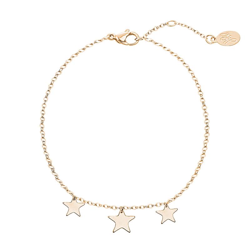 Armbandje Triple Stars- Goud