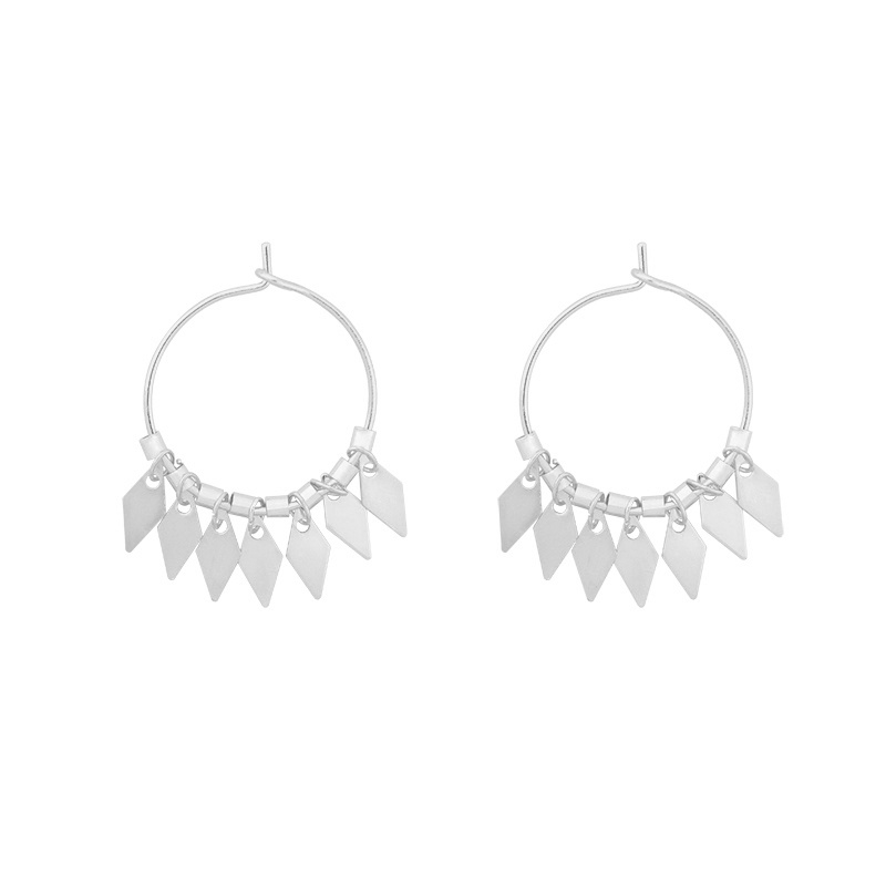 Oorbellen Dancing Diamonds - Zilver