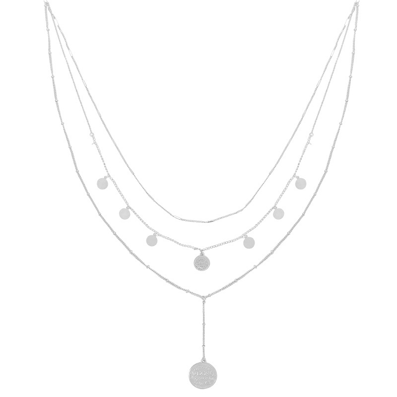 Ketting La Reina Layers - zilver