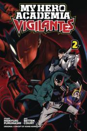 My hero academia- Vigilantes 02