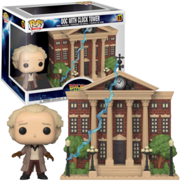 Funko Pop- Back to the Future: Doc with Clock tower