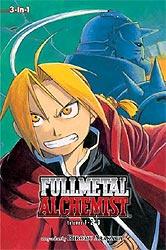 Fullmetal Alchemist Volume 1-2-3