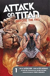 Attack on Titan- Before the fall 01