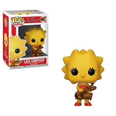 Funko Pop- Simpsons: Lisa Simpson