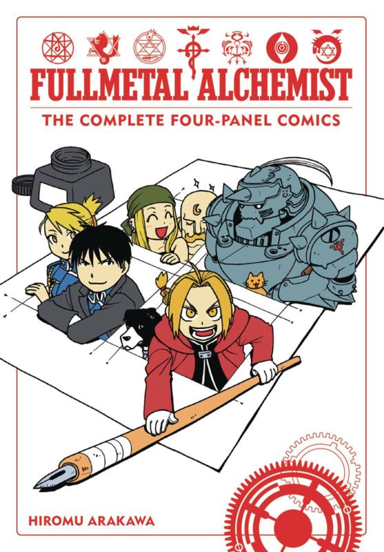 Fullmetal Alchemist- Four panel comics 01
