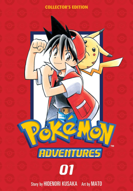 Pokemon adventures 01- Collectors edition