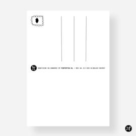 Kaartenset - Kus door je brievenbus (Coronatijd)