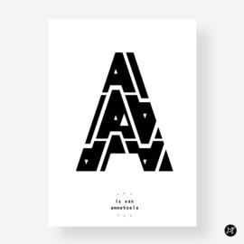 Kaart - De A is van
