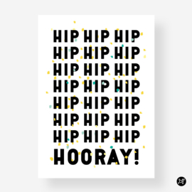 Kaart - Hip hip hooray