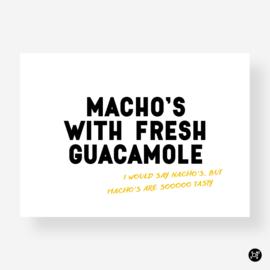 Kaart - Macho's