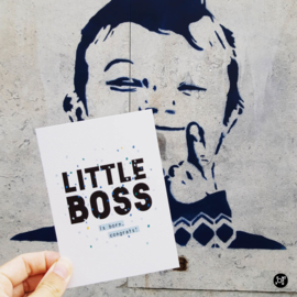 Kaart - Little boss is born