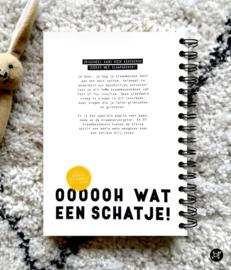 Invulboek - Kraambezoek 'Ooh wat een schatje!'