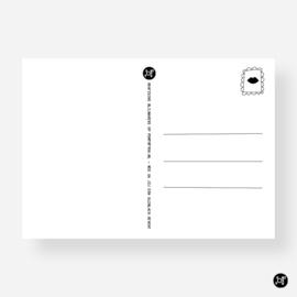 Kaart - Dikke kus door je brievenbus